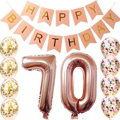 75 Creative Birthday Ideas for Women —by a Professional Event Planner Plan a heist? Escape from death row? Get creative and unusual birthday ideas for women from a professional event planner. 40th Birthday Party For Women, 40th Birthday Themes, 40th Birthday Balloons, 70th Birthday Decorations, 40th Bday Ideas, 70th Birthday Parties, Birthday Party Tables, Birthday Woman, Mom Birthday