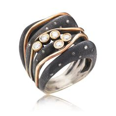 One of a kind ring at Spectrum Art & Jewelry  - Susan Barlow Jewelry