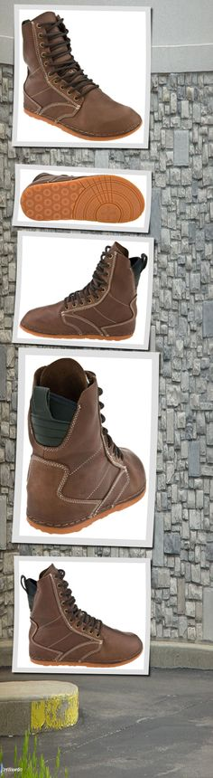 For those interested in barefooting... - OTZ Shoes OTZ1 Troop Leather from www.planetshoes.com