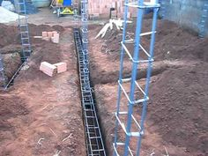 Alicerce e Baldrame - Como Construir sua Casa (part 2).avi