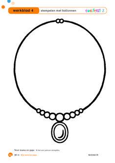 Confetti - thema moederdag - vaderdag - werkblad - stempelen met ballonnen