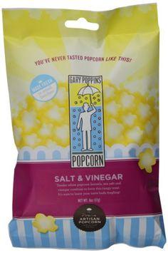 Gary Poppins Salt and Vinegar Popcorn, Bag, Pack) -- Additional info @ : Fresh Groceries White Cheddar Popcorn, White Popcorn, Popcorn Kernels, Popcorn Bags, Pop Corn, Gourmet Popcorn, Snack Recipes, Snacks, Vinegar