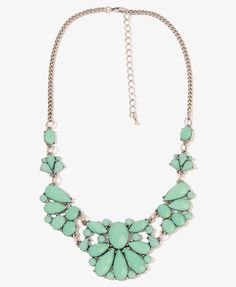 Faux Stone Bib Necklace | FOREVER21 - 1017437382