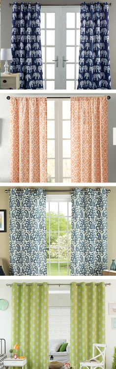 Dress up any room with new window treatments designed to compliment and enhance your home décor! Visit Wayfair and sign up today to get access to exclusive deals everyday up to 70% off. Free shipping on all orders over $49.