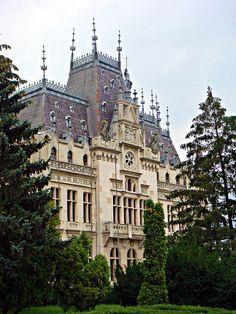 Iasi, Romania by CameliaTWU, via Flickr  Culture Palace, Iasi, Romania