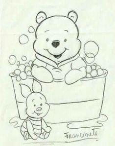 Easy Disney Drawings, Disney Drawings Sketches, Art Drawings For Kids, Pencil Art Drawings, Cartoon Drawings, Easy Drawings, Animal Drawings, Disney Coloring Pages, Art Sketchbook