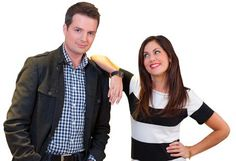 Todd Talbot and Jillian Harris at the Vancouver Home and Design Show  hes hot shes beautiful, a cute couple ~missing one thing: they are not together. :(