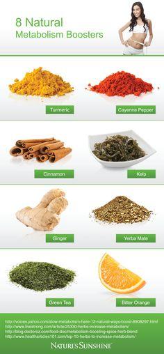 8 Natural Metabolism Boosters [Infographic]   DrJulissa.com - Official Website of Julissa Hernandez, ND
