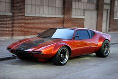 De Tomaso Pantera...slightly custom and very cool!