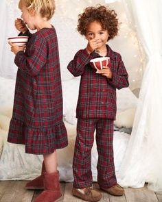 Plaid Flannel Pajamas by Sara's Prints - Kids
