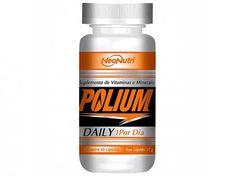 Multivitamínico Polium Daily 60 Cápsulas - Neo Nutri com as melhores condições você encontra no Magazine Lopesmarinho. Confira!