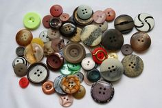 Buttons are truly perfect as a pretty finishing touch to handmade cards, gift tags, scrapbooks, sewing and much more! Selection of plastic buttons many colors and sizes. Each bag is price shown per 1 bag Scrapbooks, Handmade Cards, Color Mixing, Gift Tags, Washer Necklace, I Shop, Rainbow, Plastic, Buttons