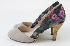 Anthropologie Womens Plenty by Tracy Reese Heels Pumps Shoes Multi-Color 9.5 New