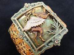 Artemis Goddess of the Hunt Bracelet by Dr Brassy Steamington, via Flickr  OH BABY is this grand......check out Dr. Brassy Steamington at Etsy.  Parts, bsueboutiques.com