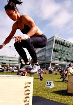 Love me some box jumps :)