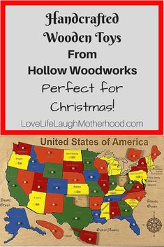 Handcrafted Wooden Toys by Hollow Woodworks #handcrafted #toys #Christmas