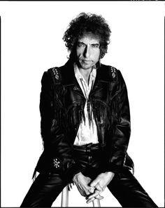 Bob Dylan by David Bailey