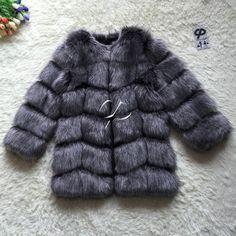 Cpブランド毛皮のコート冬の女性長いフェイクキツネの毛皮コート毛皮のような高級レディースフェイク毛皮ジャケット高品質フェイクファーのコートジャケット