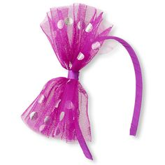 Add some flair to her hair with this super cool headband!