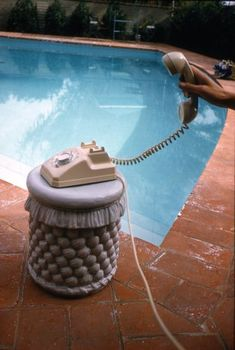 Phone call, Palm Springs 1960