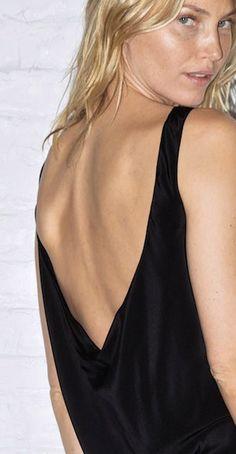 Minimal + Classic: Black Anna Dress _100% Natura Silk www.datura.com