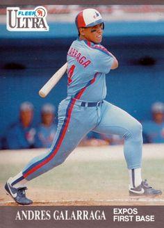 Andres Galarraga - Montreal Expos - 1991 Fleer Ultra