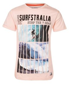 Cars Jeans - GRAIL - T-shirt print - Roze