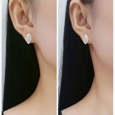 465e52095 US $2.56 10% OFF|Aliexpress.com : Buy Fyla Mode Women's 100% 925 Sterling  Silver Jewelry Fashion Cute Tiny Butterfly Know Stud Earring Gift for  School Girls ...