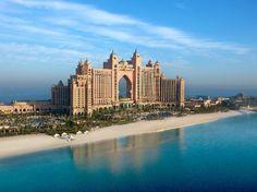 Conheça o Hotel Atlantis em Dubai, onde você tem a sensação de estar debaixo dágua. Um dos lugares mais incríveis de Dubai, com certeza! Veja fotos!