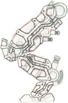 Robot Legs by MF-Mitch