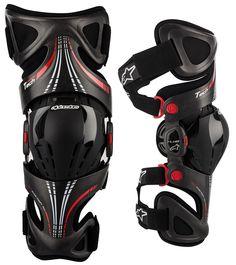 Alpinestars - Fluid Tech Carbon Knee Brace (Sold Individually)