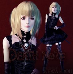 Misa Amane Hair for The Sims 3 Mods, Sims 4 Mods Clothes, Sims 4 Clothing, Sims Cc, Sims 4 Hair Male, Sims Hair, Amane Misa, Sims Stories, The Sims 4 Skin