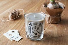 Diptyque feu de bois candle // Sara Karlsson
