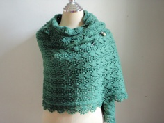 Knitting shawl