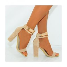 Koi Couture Koi D8 Nude Faux suede High Heels £29.99 (FREE UK Delivery) Item in Stock | Usually dispatched within 24 hours