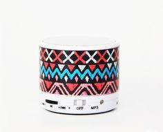 Unique Ethnic Stripes Wireless Bluetooth Mini Speaker