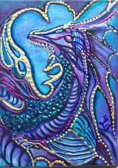 Click here to view Purple Dragon by Judi Cain