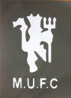 Mancester United Stencil The Red Devils
