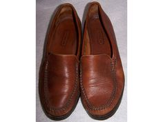 Coach shoes flats loafers slip ons  Brown by CommonCentsThrift, $40.00