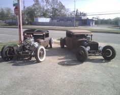 Rods Would look good in our drive way! Daddy and Daughter cars!! Then Mama gets one!! ♥