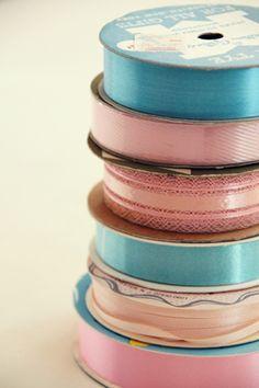 vintage ribbon by sweetjessie, via Flickr