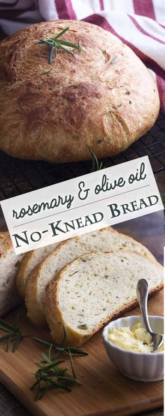 Love making artisan bread but want it to be quick and easy? This rosemary no kne… Love making artisan bread but want it to be quick and easy? This rosemary no knead bread bakes up like a dream in your dutch oven and only takes a few minutes of work. Artisan Bread Recipes, Dutch Oven Recipes, Bread Machine Recipes, Easy Bread Recipes, Baking Recipes, Cheap Recipes, Healthy Recipes, Quick Bread, Rosemary Olive Oil Bread Recipe