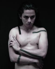 Blackwork / black tattoo / ink / minimal