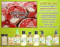 Christmas Cookie (Compare To Yankee Candle®) Product Collection - The irresistible aroma of freshly baked Christmas cookies is as much a part of the holidays as the twinkling lights on the tree and the stockings hung by the chimney with care. No holiday would seem complete without nibbling on some of these homemade delights. You'll find every delicious note in the buttery rich, vanilla scent of this memorable fragrance. #OverSoyed #ChristmasCookie #YankeeCandle #Candles #HomeFragrance…
