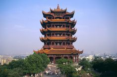 La Torre de la Grulla Amarilla, en Wuhán . China