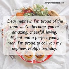 Birthday Quotes for Nephew Best Of Short amp; Long Birthday Wishes Messages for Nephew Birthday Greetings For Nephew, Birthday Message For Nephew, Long Birthday Wishes, Happy Birthday Nephew Quotes, Best Birthday Quotes, Birthday Wishes Messages, Happy Birthday Dear, Happy Birthday Cards, Birthday Ideas