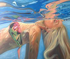 "Saatchi Art Artist: Emilse Vega; Oil 2014 Painting ""from SPF35"""