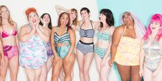 Modcloth's latest body positivity swim shoot is it's best yet.