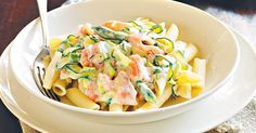 This beautifully creamy smoked salmon pasta makes elegant entertaining simple.