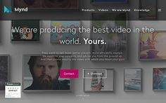 Mynd is one of the most successful and fastest growing video production companies in Germany. With over 2,600 video productions for more than 50 industries - in all shapes and colors.